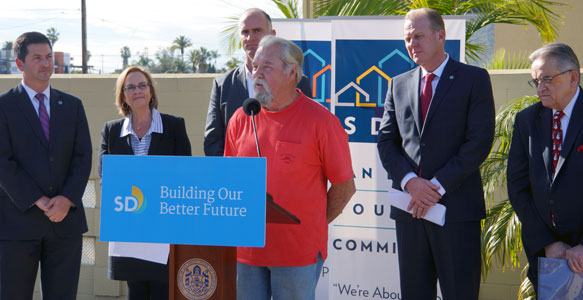 "<span>A Holiday Plea for Landlords</span><br>Additional landlords needed to rent apartments to homeless Veterans through SDHC's partnership ""Housing Our Heroes"" landlord outreach program, helping hundreds of homeless Veterans get off the streets. Read the News Release"