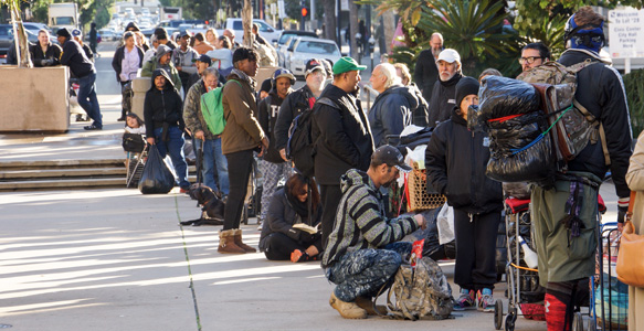 <span>Project Homeless Connect Assists 1,016 Individuals</span><br>Increased services and large donations helped homeless San Diegans at The 11th Project Homeless Connect – Downtown San Diego. More than 350 volunteers and close to 90 service providers participated. Watch the Video 1.25.17