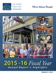 SDHC FY2015-16 Annual Report and Highlights