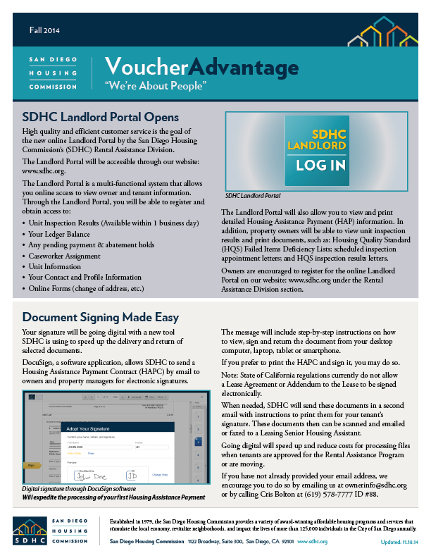 Voucher Advantage - Fall 2014
