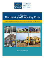 San Diego Housing Production Objectives 2018-2028