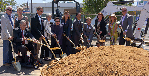 <span>Groundbreaking for Affordable Senior Housing</span><br>North Park Senior Apartments, an SDHC partnership, will transform a vacant parking lot into housing open to all low-income seniors, with programs for lesbian, gay, bisexual, and transgender seniors. Read the news release 7.13.16.