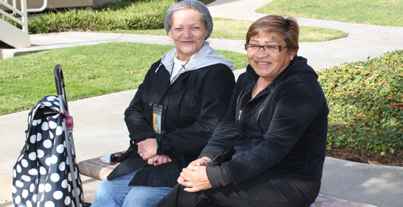 <span>Rental Assistance</span><br>Senior citizens, like Amanda & Maria, make up 30 percent of all Housing Choice Voucher households. Watch Video.