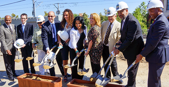 <span>Live-Work-Play: Affordable Apartments</span><br>Trolley Residential Apartments, an SDHC partnership development, will provide 51 affordable apartments that will impact the lives of Chollas View families in the southeastern part of the City of San Diego. Read the News Release 07.15.15.