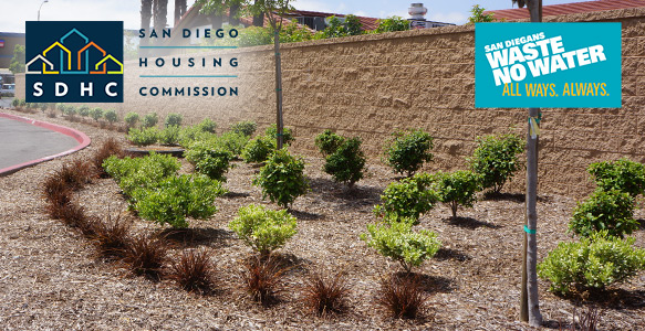 "<span>SDHC - Mandatory Water Conservation</span><br>The San Diego Housing Commission (SDHC) is joining the City of San Diego's ""San Diegans Waste No Water"" campaign to reduce water use because of the severity of our statewide drought conditions. <u>More Information</u>"