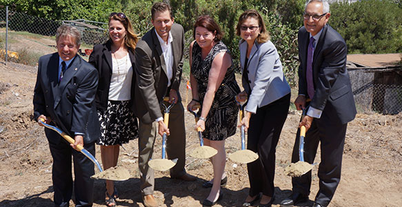 <span>SDHC Partnership Groundbreaking-A First Locally</span><br>California Assembly Speaker Toni Atkins, SDHC and developer Chelsea Investment Corporation broke ground on Independence Point, which will provide affordable housing for families with a member who has a developmental disability. Read news release. 8.15.14