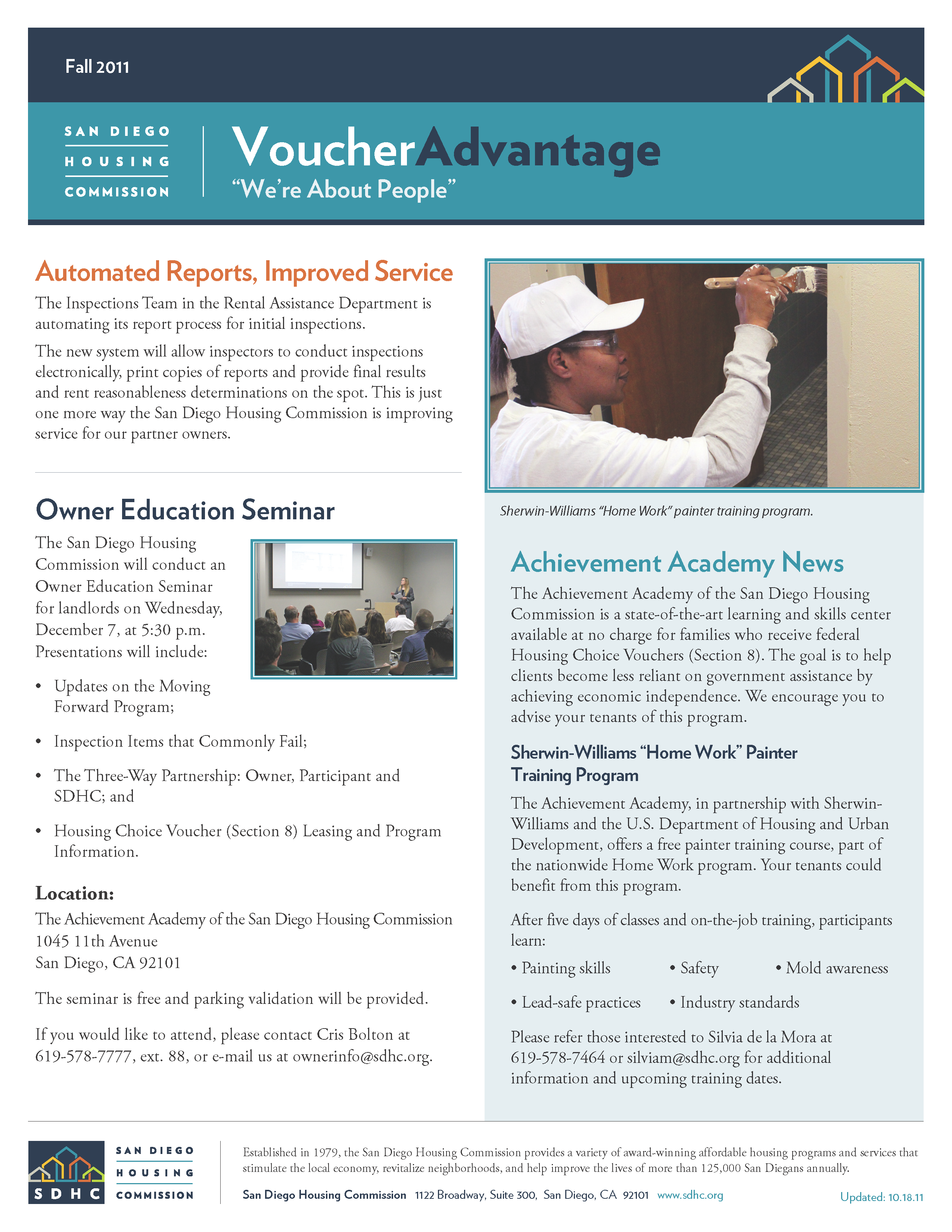 Voucher Advantage Fall 2011