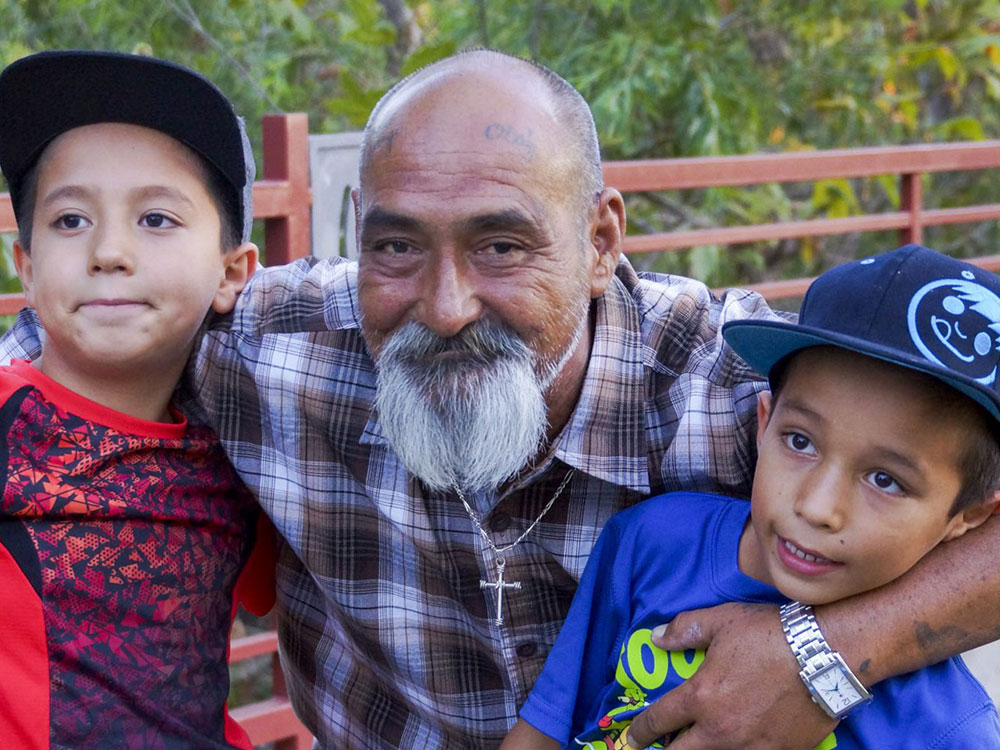 A Single Father Works for a Brighter Future