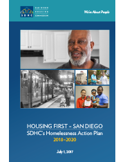 HOUSING FIRST – SAN DIEGO: 2018-2020