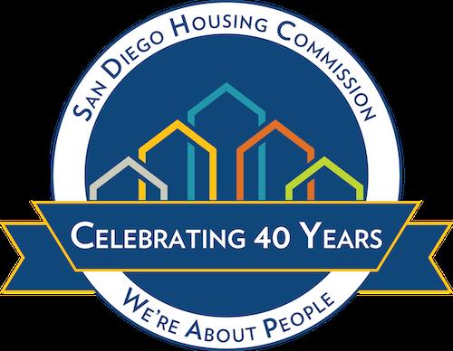 SDHC 40th logo