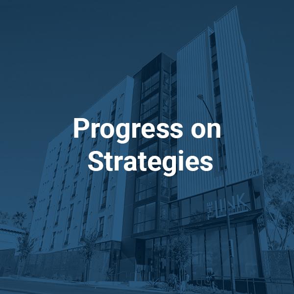 Progress on Strategies